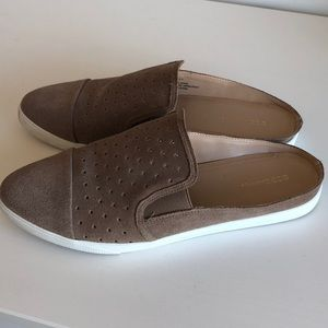 BCBG Leather Mule Slides, Size 10M
